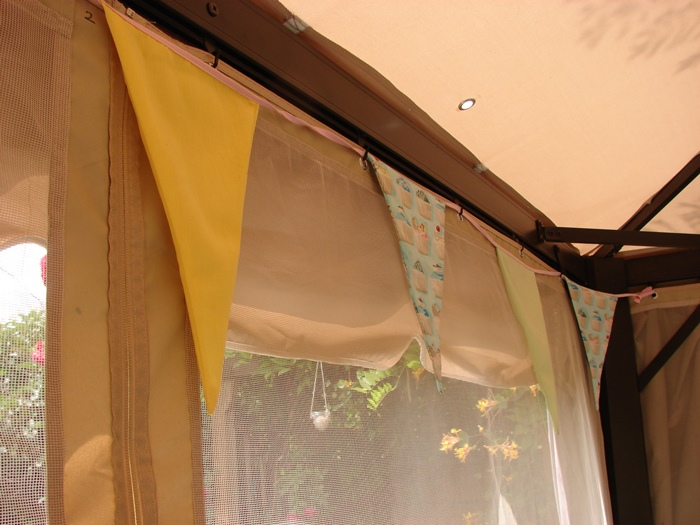 Decorative Bunting For Outdoor Tent