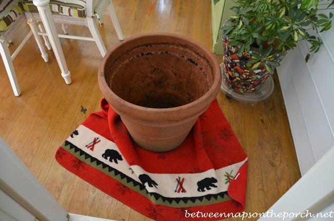 Easy Way to Move Heavy Clay Pot