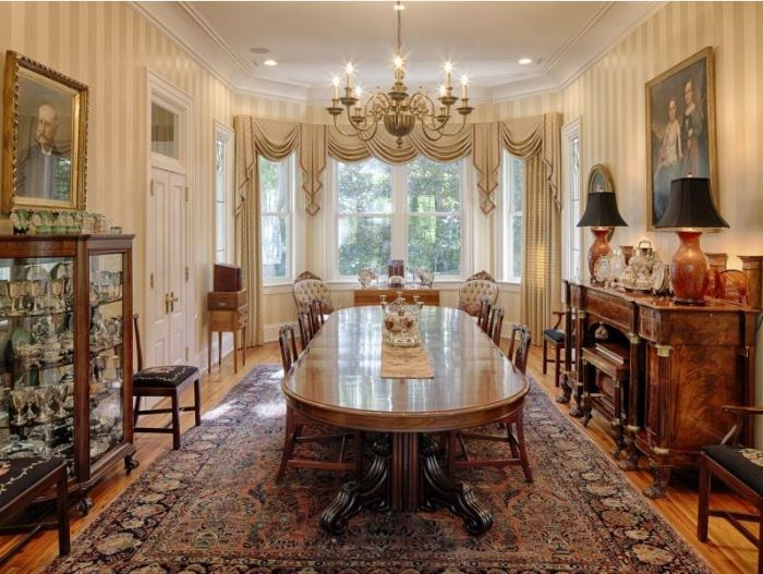 Elegant Dining Room, Savannah Island Home