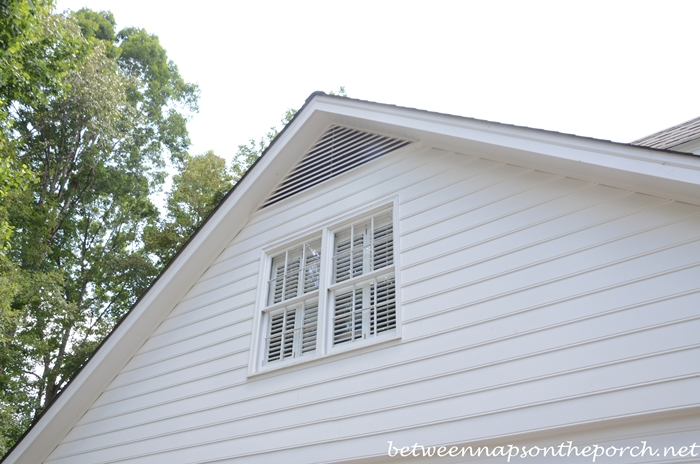 Keep Bats Out Of The Attic By Screening Over Gable Windows