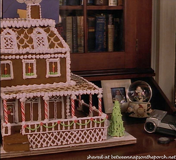 Gingerbread House in Movie, Stepmom