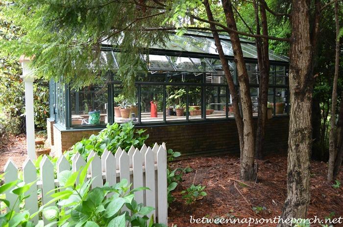 Greenhouse in the Garden, Gardens for Connoisseurs Garden Tour