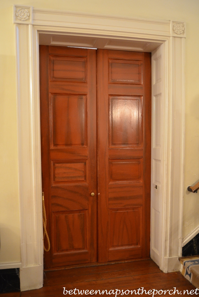 Interior Doors in Oak Alley Plantation