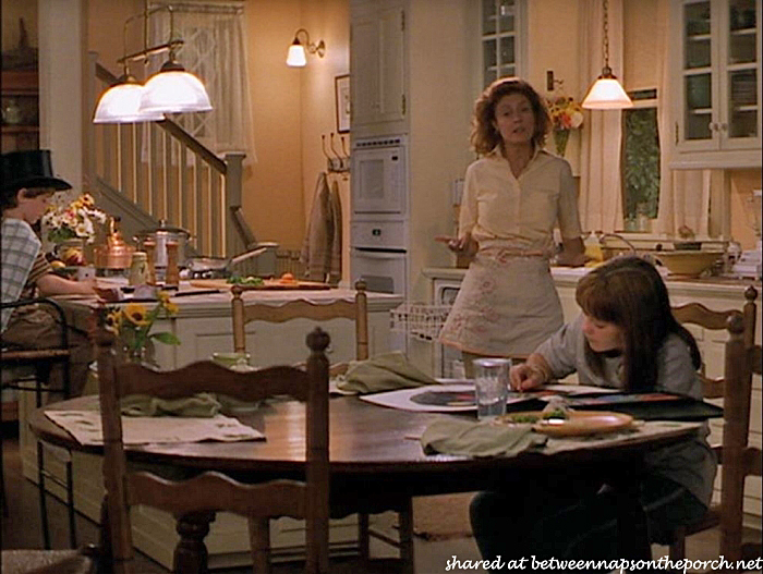 Kitchen in House in Stepmom Movie