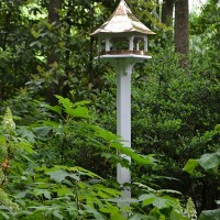 Bird Houses Add Beauty & Design To The Garden