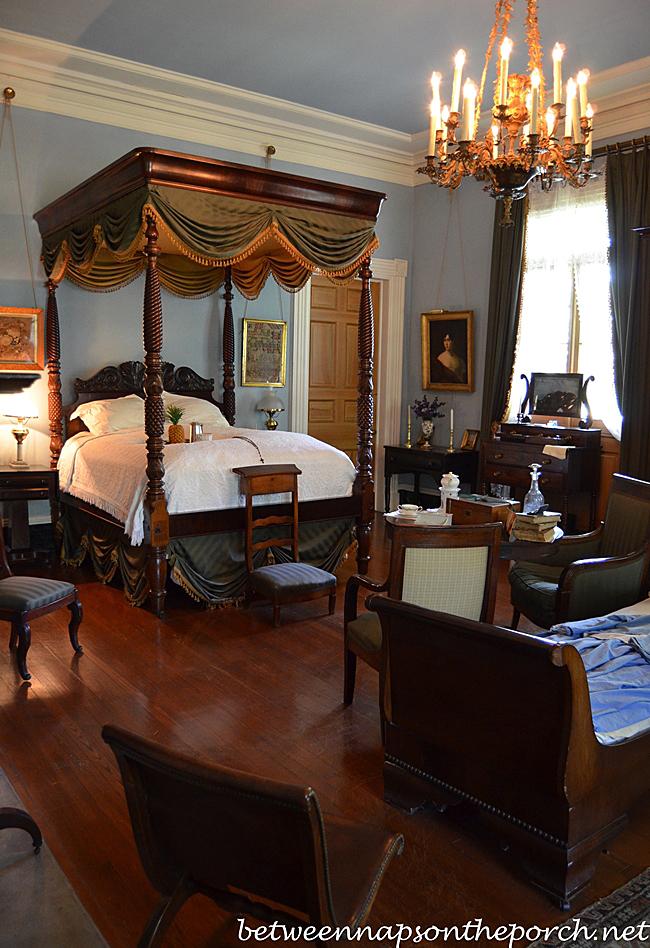 Oak Alley Plantation Bedroom