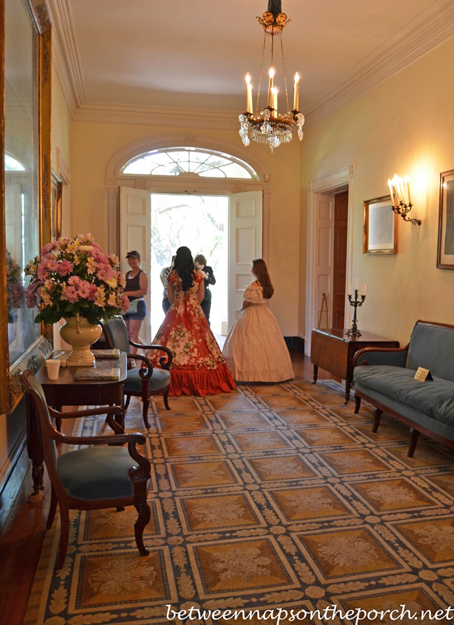 antebellum home interiors tour oak alley plantation in louisiana 10118