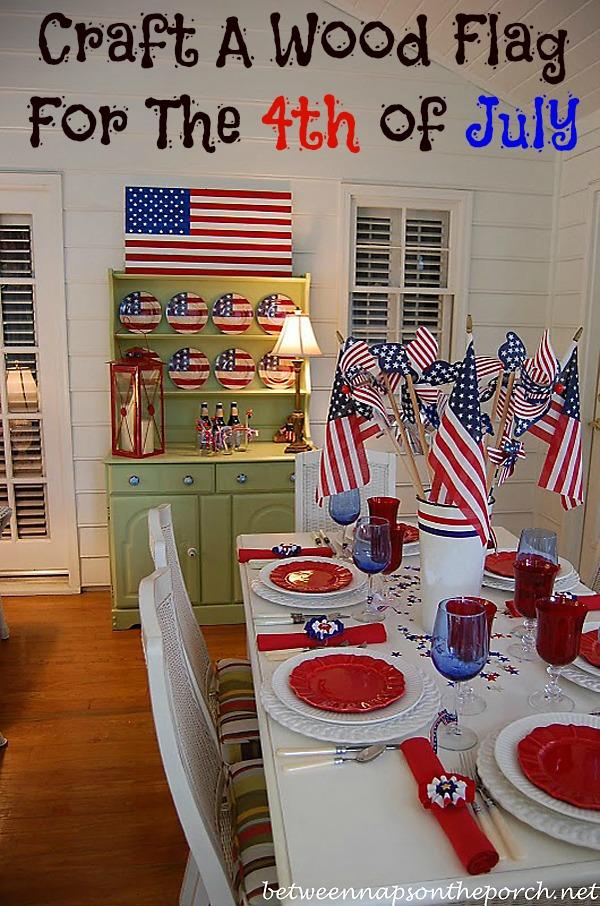 Make A Pottery Barn Inspired Flag
