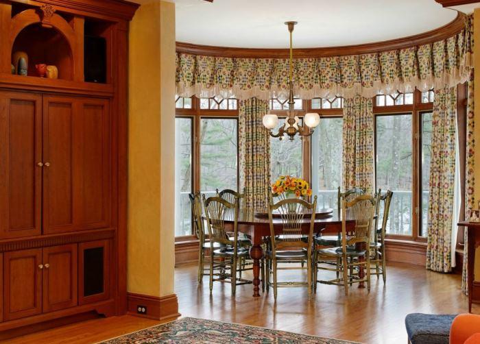 Ron Howard's Breakfast Room, Conyers Farm, Greenwich, CT