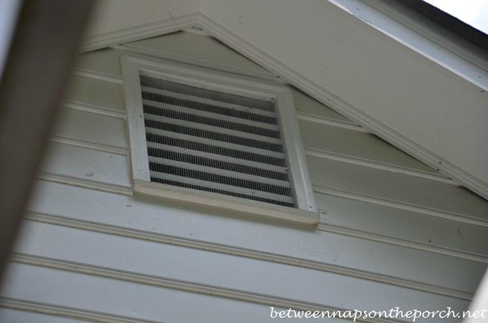 Venting Bathroom Exhaust Fan Through Gable Vent Venting