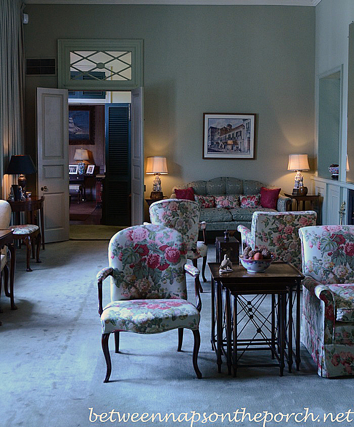 Sitting Room in Kemper and Leila Williams New Orleans Home
