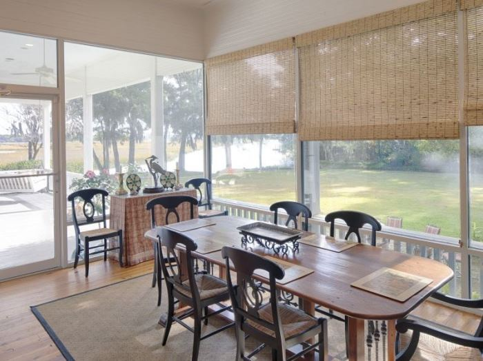 Southern Screened Porch, Savannah Home