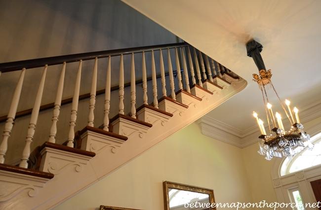 Staircase, Oak Alley Plantation