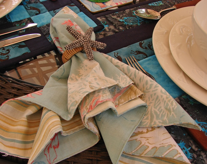 Starfish Napkin Ring