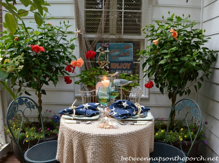 Summer Coastal Tablescape