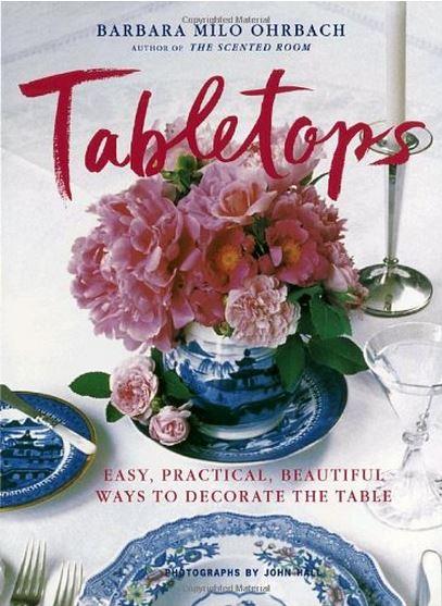 Tabletops by Barbara Milo Ohrbach