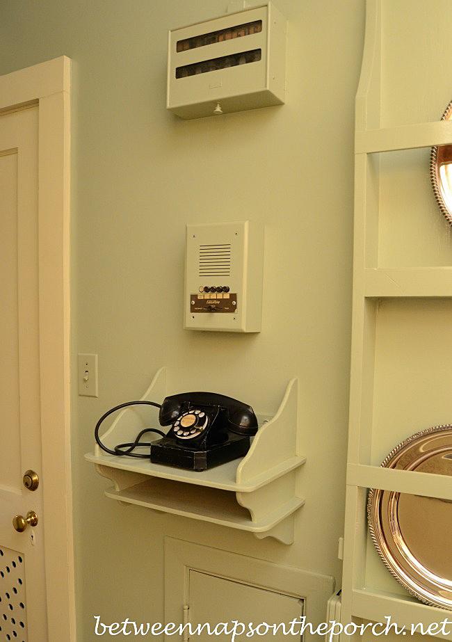 Telephone Shelf