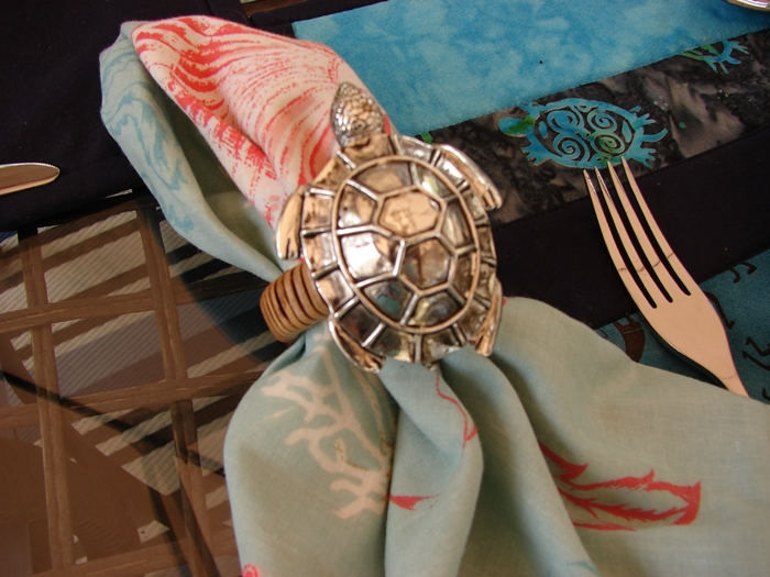 Turtle Napkin Ring