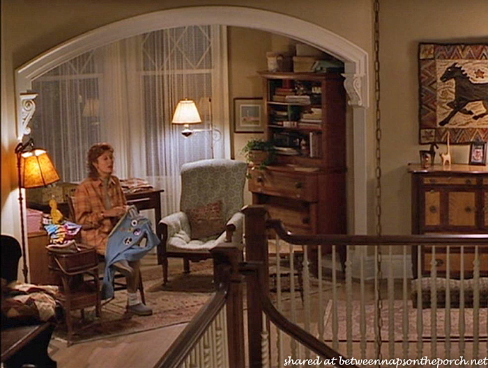 Upstairs Landing, Victorian Home in Stepmom Movie