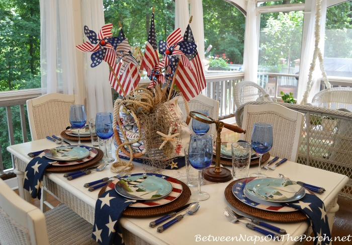 4th of July Nautical Table Setting Tablescape 03_awm