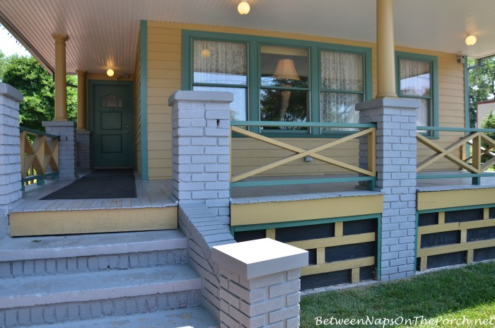 A Christmas Story House front porch
