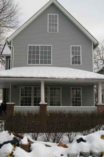 A Christmas Story Movie House before restoration