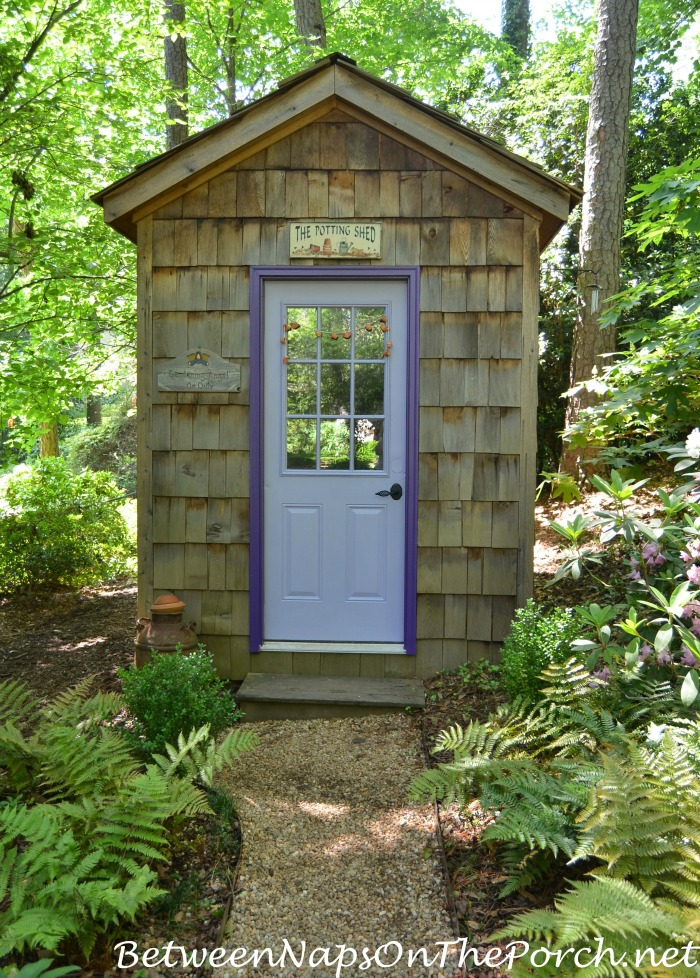 A Garden Shed for the Garden