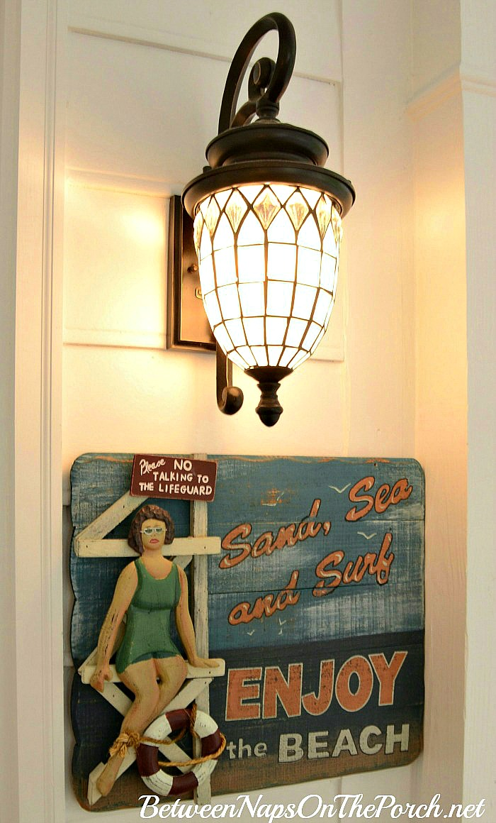 Beach Sign for a Screened Porch or Beach House