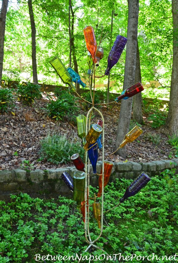 Bottle Tree in the Garden
