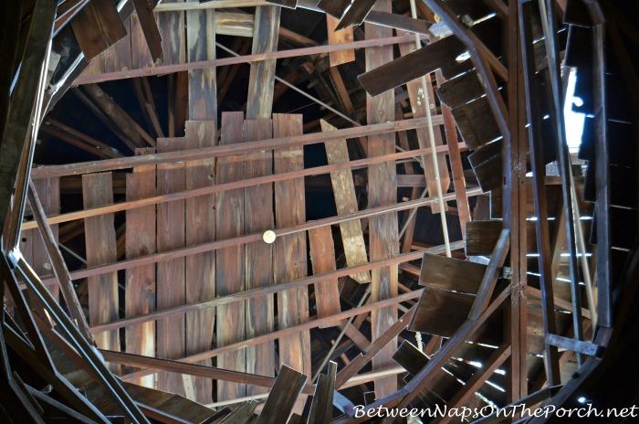 Close View of Unfinished Cupola Longwood, Natchez Mississippi