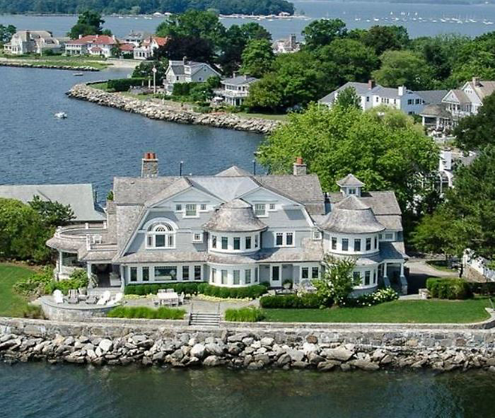 Coastal Home in Greenwich