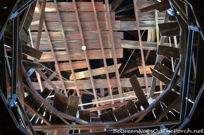 Cupola Inside Longwood, Natchez Mississippi
