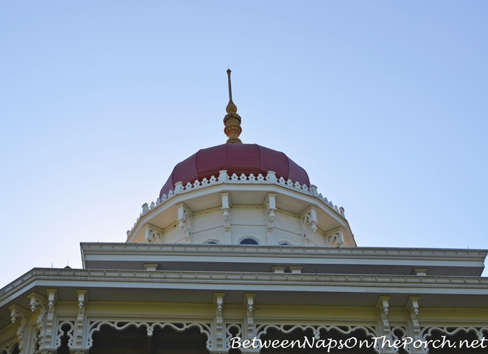 Cupola and Finial Atop Longwood Plantation, Natchez MS_wma