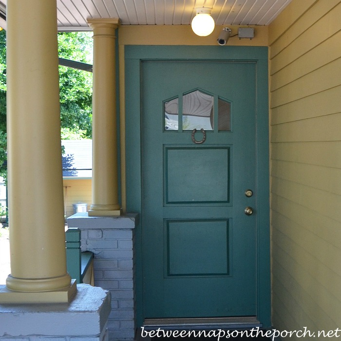 Front Door on A Christmas Story House