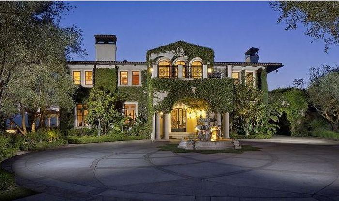 Heidi Klum's Brentwood CA Home