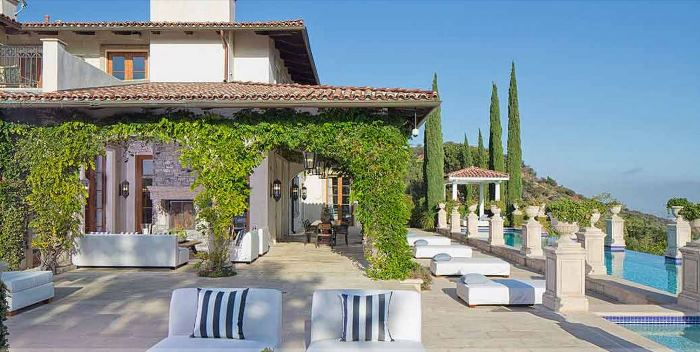 Heidi Klum's Brentwood Estates California Home 11