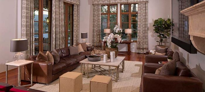 Heidi Klum's Brentwood Estates California Home 12