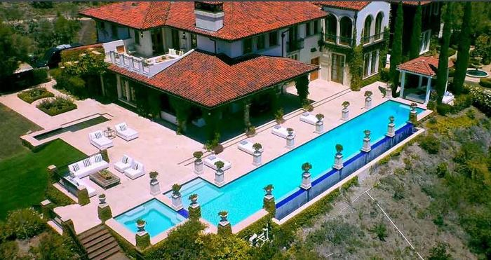 Heidi Klum's Brentwood Estates California Home 13