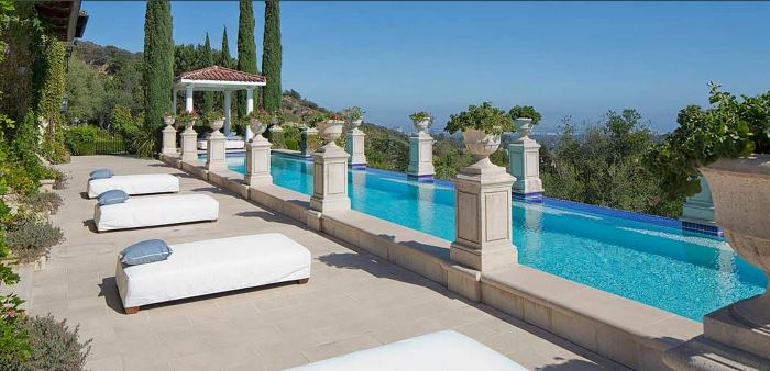 Heidi Klum's Brentwood Estates California Home 19