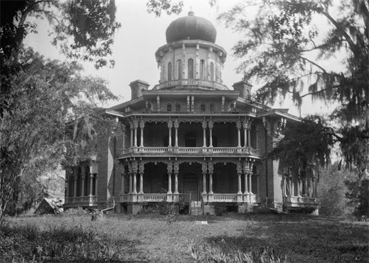 Longwood, Natchez, by James Butters for Library of Congress Historic American Building Survey, 04-14-36