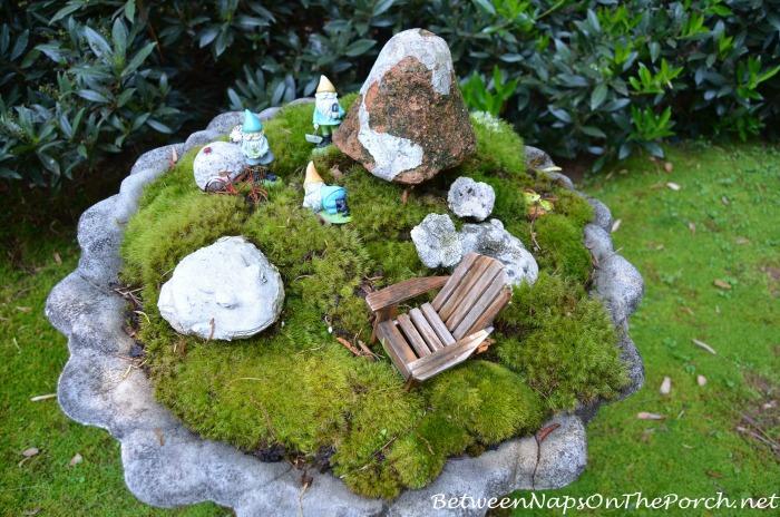 Moss Fairy Garden