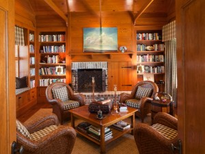 Paneled Library & Study
