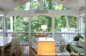 Screened Porch After Painting