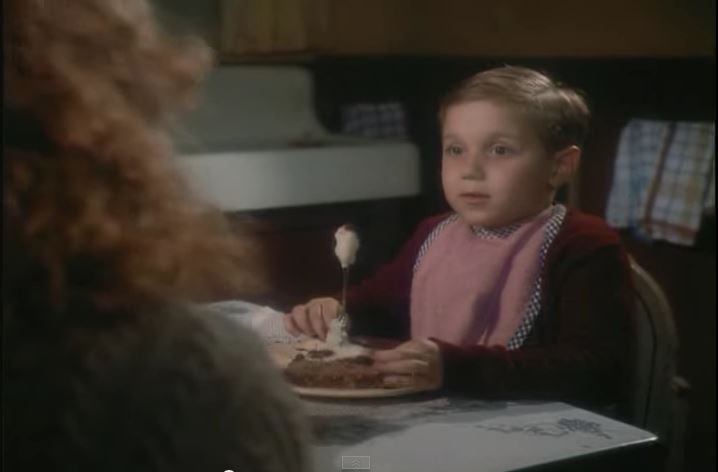 Randy Eating Like a Piggy in Movie, A Christmas Story