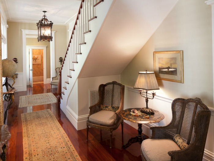 Reading Nook Under Staircase