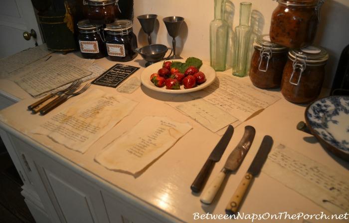 Rosedown Plantation Butler's Pantry