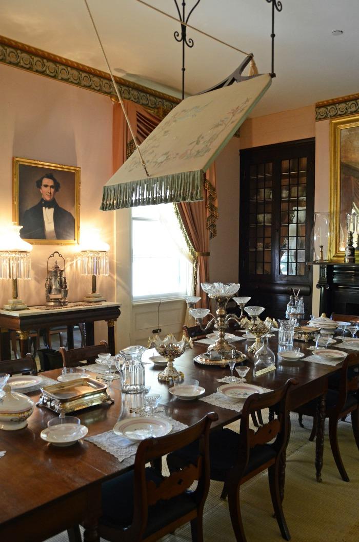 Rosedown Plantation Dining Room