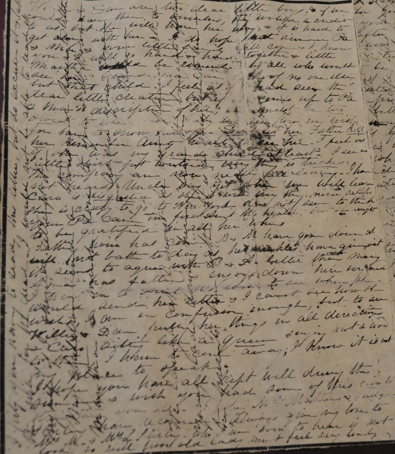 Rosedown Plantation Notes in Butler's Pantry, St. Francisville, LA