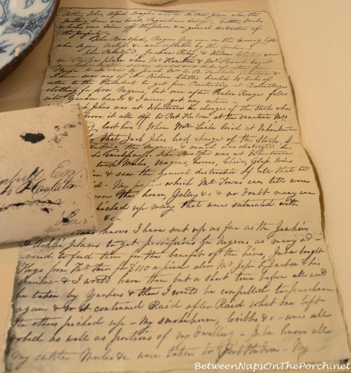 Rosedown Plantation Writings