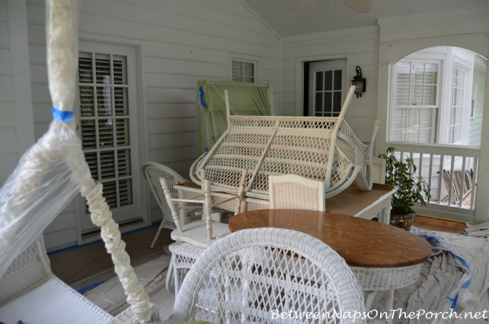 Screened Porch Prepared For Painting_wm